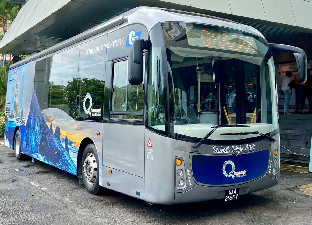 提供更環保出行交通工具 沙首輛公共電動巴士面世