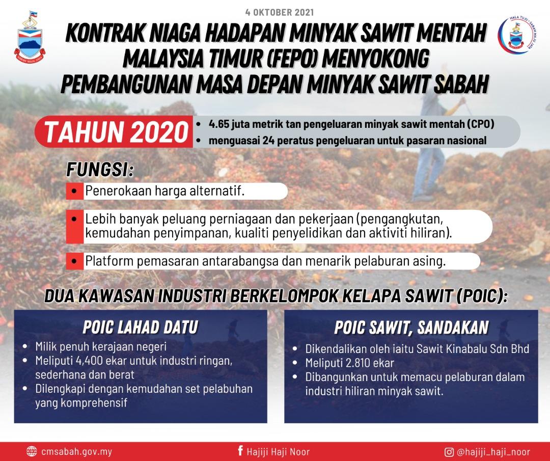 Demi pembangunan masa depan minyak sawit Sabah