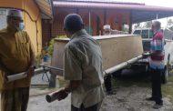 Terpaksa guna lori kelapa sawit untuk bawa jenazah